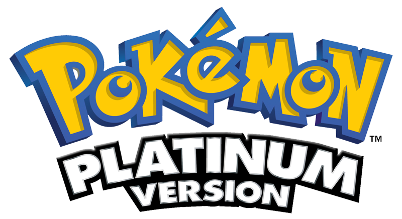Pokemon Platinum Version logo